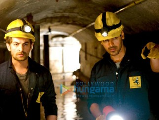Movie Still From The Film New York Featuring Neil Nitin Mukesh,John Abraham
