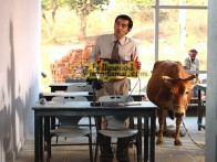 Movie Still From The Film Outsourced Featuring Asif Basra