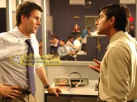 Movie Still From The Film Outsourced Featuring Josh Hamilton,Asif Basra