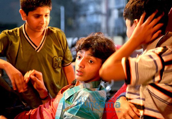 Movie Still From The Film Let's Dance Featuring Aabhaas Yadav,Nikunj Pey,Paras Arora