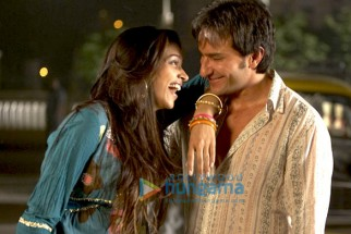Movie Still From The Film Love Aaj Kal Featuring Deepika Padukone,Saif Ali Khan
