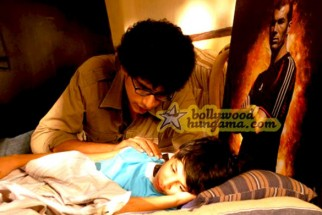 Movie Still From The Film Little Zizou Featuring Imaad Shah