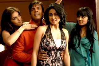 Movie Still From The Film Hello Darling,Eesha Koppikhar,Javed Jaffrey,Gul Panag,Celina Jaitly