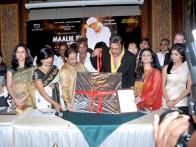 Photo Of Anup Jalota,Alexx O'Neil,Kishori Shahane,Deepak Balraj Vij,Divya Dutta,Govind Namdeo From The Audio release of Maalik Ek