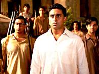 Movie Still From The Film Khelein Hum Jee Jaan Sey,Vijay Maurya,Abhishek Bachchan