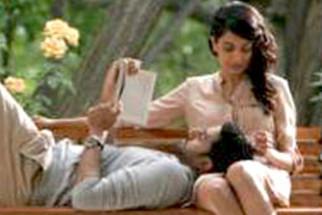 Movie Still From The Film Game,Abhishek Bachchan,Sarah Jane Dias