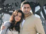 Movie Still From The Film Game,Sarah Jane Dias,Abhishek Bachchan
