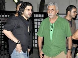 Photo Of Faruk Kabir,Naseruddin Shah From The Naseruddin Shah and Prateik Babbar watch 'Allah Ke Banday'