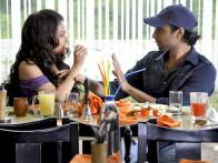Movie Still From The Film A Strange Love Story,Riya Sen,Eddie Seth