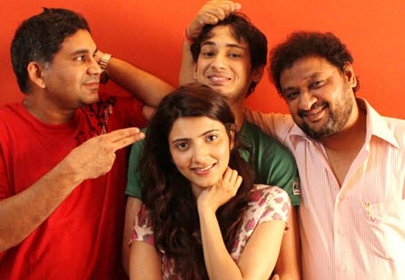 On The Sets Of The Film Money Devo Bhava Featuring Nikhil Pandey,Yoshika Verma,Maanvi Gagroo