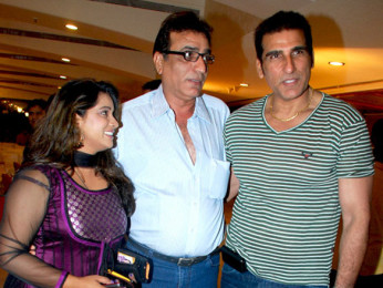 Photo Of Nasreen Usmani,Vinod Chhabra,Mukesh Rishi From The Audio release of 'My Husband's Wife'