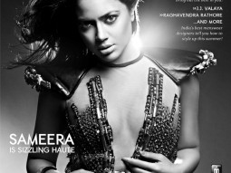Sameera Reddy On The Cover Of The Man,April 2011
