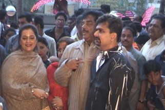 Photo Of Shatrughan Sinha,Gaurang Doshi From The Premiere Of Deewaar At Fun Republic