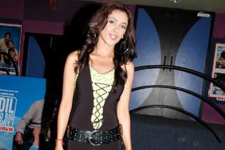 Photo Of Hrishita Bhatt From The Premiere Of Dil Jo Bhi Kahey