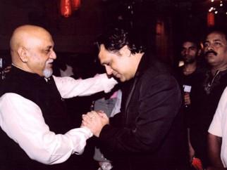 Photo Of Pritish Nandy,Govinda From The Premiere Of Ek Khiladi Ek Haseena