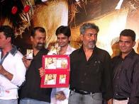 Photo Of Prakash Jha,Sayaji Shinde From The Audio Launch Of Satya Bol