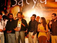 Photo Of Aadesh Shrivastava,Prakash Jha,Sayaji Shinde,Tina Parekh,Sachin Khedekar From The Audio Launch Of Satya Bol