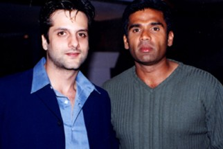 Photo Of Fardeen Khan,Suniel Shetty From The Audio Release Of Aaghaaz