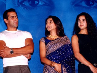 Photo Of Salman Khan,Rani Mukherjee,Preity Zinta From The Audio Release Of Chori Chori Chupke Chupke