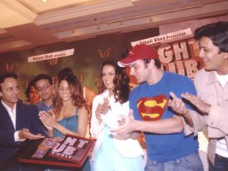 Photo Of Vicky Chopra,Amrita Arora,Neha Dhupia,Sohail Khan From The Audio Release Of Fight Club