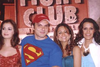 Photo Of Dia Mirza,Sohail Khan,Amrita Arora,Neha Dhupia From The Audio Release Of Fight Club