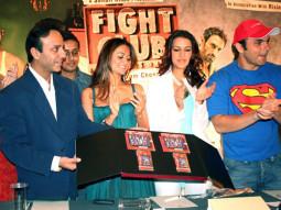 Photo Of Dia Mirza,Vicky Chopra,Amrita Arora,Neha Dhupia From The Audio Release Of Fight Club