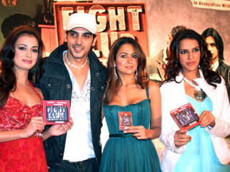 Photo Of Dia Mirza,Zayed Khan,Amrita Arora,Neha Dhupia From The Audio Release Of Fight Club