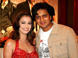 Photo Of Dia Mirza,Riteish Deshmukh From The Audio Release Of Fight Club