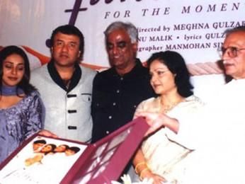 Photo Of Meghna Gulzar,Anu Malik,Jhamu Sughand,Raakhee,Gulzar From The Audio Release Of Filhaal