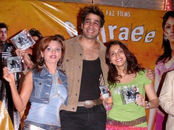 Photo Of Rakhi Sawant,Rajat Bedi,Isha Koppikar From The Audio Release Of Gahraee