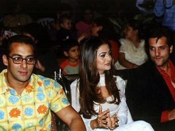 ... Photo Of Salman KhanAmrita AroraFardeen Khan From The Audio Release Of Kitne ...
