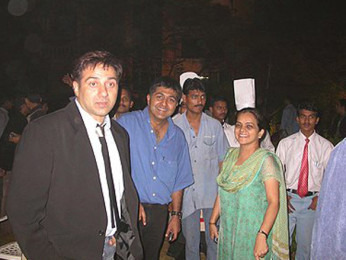 Photo Of Sunny Deol From The Audio Release Of Lakeer