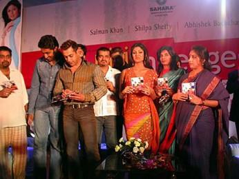 Photo Of Salman Khan,Ehsaan Noorani,Shilpa Shetty,Abhishek Bachchan,Revathy From The Audio Release Of Phir Milenge