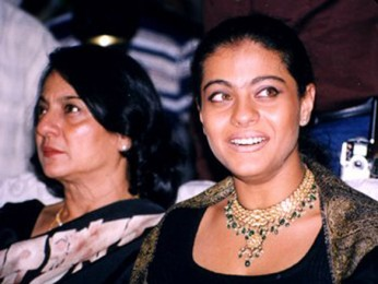 Photo Of Tanuja,Kajol From The Audio Release Of Raju Chacha