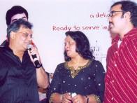Photo Of Subhash Ghai,Sunanda Murali Manohar,Sanjay Daima From The Audio Release Of Ramji Londonwaley