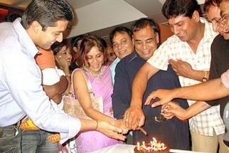 Photo Of Aftab Shivdasani From The Completion Party Of Kaun Hai Jo Sapno Mein Aaya