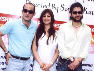 Photo Of Akshaye Khanna,Ayesha Takia Azmi,Aftab Shivdasani From The Launch Of Shaadi Se Pehle