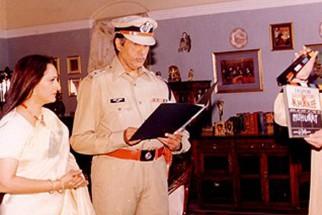 Photo Of Amitabh Bachchan,Jaya Prada,Politician Amar Singh From The Launch Party Of Khakee