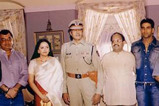 Photo Of Jaya Prada,Amitabh,Amar Singh,Akshay Kumar,Rajkumar Santoshi,Abhishek From The Launch Party Of Khakee