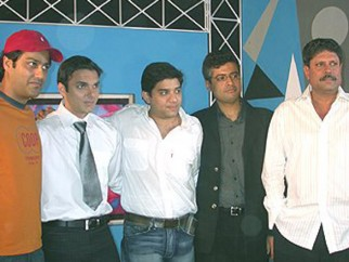 Photo Of Sohail Khan,Kapil Dev From The Mahurat Of Aryan