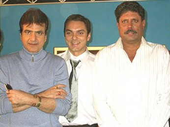 Photo Of Jeetendra. Sohail Khan,Kapil Dev From The Mahurat Of Aryan