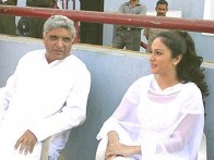 Photo Of Javed Akhtar,Gracy Singh From The Mahurat Of Dil Humko Dijiye