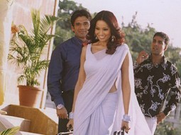 Photo Of Paresh Rawal,Suneil Shetty,Bipasha Basu,Akshay Kumar From The Mahurat Of Phir Hera Pheri
