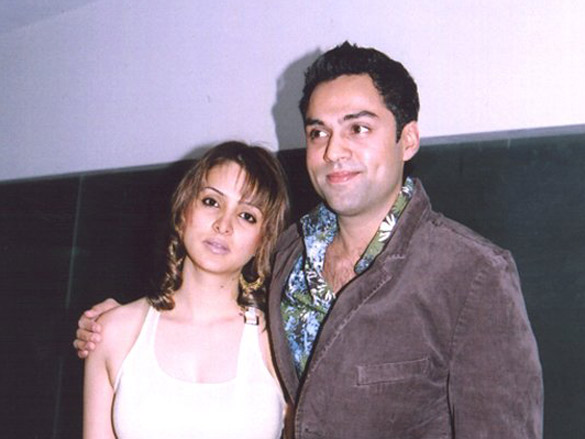 Photo Of Tanya Deol,Abhay Deol From The Bobby Deols Birthday Bash