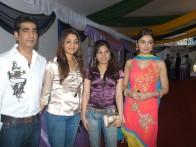 Photo Of Kishan Kumar,Tanya Kumar,Tulsi Kumar,Divya Khosla Kumar From The Launch Of Karzzzz