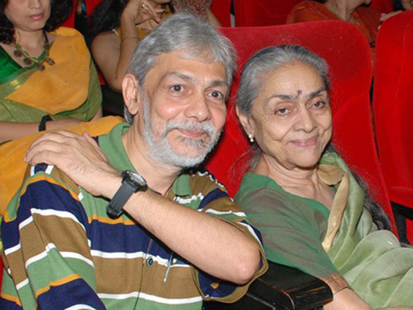Photo Of Ketan Anand,Uma Anand From The Ketan Anand's Special Screening Of 'Chetan Anand - The Poetics Of Film'