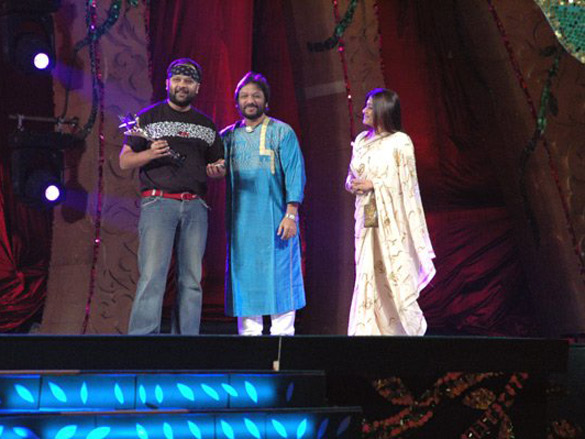 Photo Of Virag Mishra,Roop Kumar Rathod,Sonali From The Max Stardust Awards