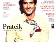 Prateik Babbar On The Cover Of The Man,July 2011