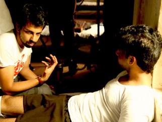On The Sets Of The Film Shaitan Featuring Rajeev Khandelwal,Kalki Koechlin,Shiv Pandit,Rajit Kapoor,Gulshan Devaiya,Kirti Kulhari,Rajat Barmecha,Neil Bhoopalam,Pawan Malhotra,Nikhil Chinnappa,Rukhsar,Abhijit Deshpande,Raj Kumar Yadav