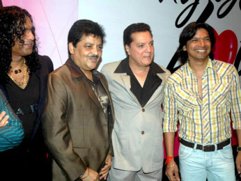 Photo Of Vinod Rathod,Udit Narayan,Jatin Pandit,Shaan From The Audio release of 'Say Yes to Love'